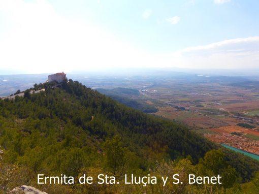 Ermita de Santa Llucia y Sant Benet