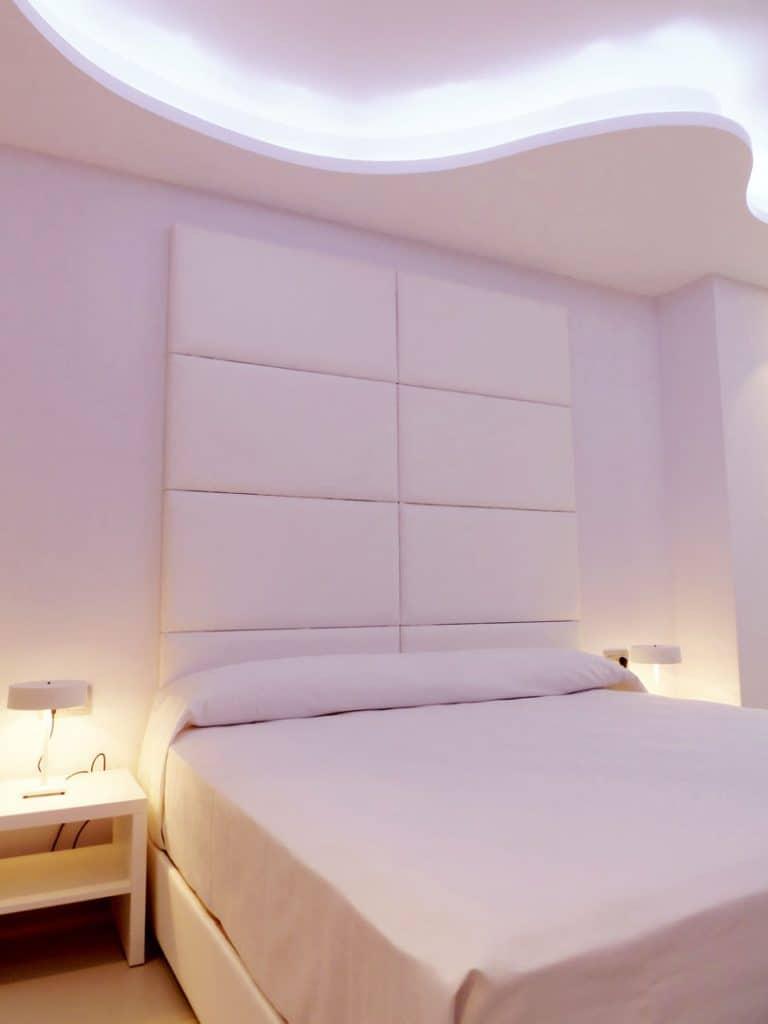 Habitación doble Blanco Nacar