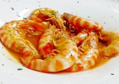 Langostinos estilo Martí - Mar Nature Restaurante
