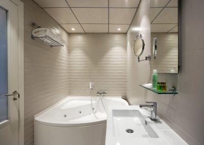 Baño Suite Blanco Nacar