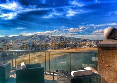 Amanecer desde Peñiscola en Hotel Boutique La Mar