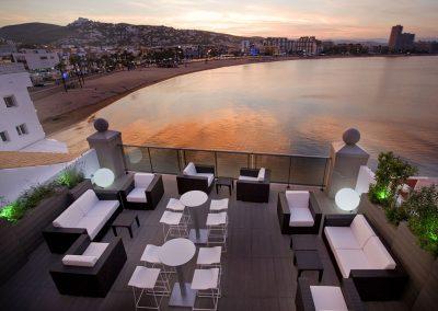 Terraza chill out Hotel Boutique la Mar