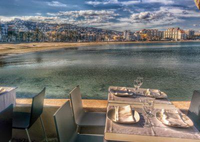 Vistas de Peñíscola desde Hotel Boutique la Mar
