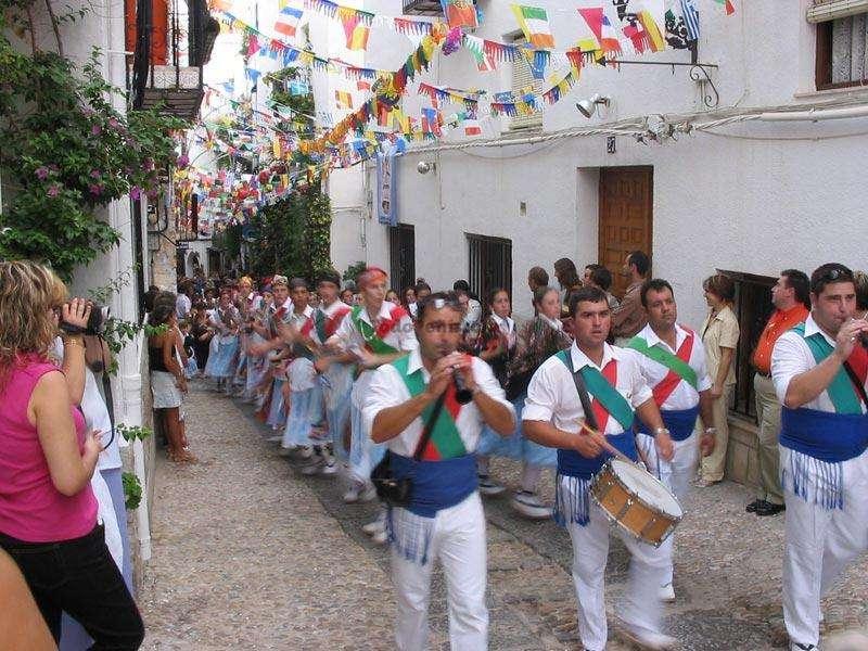 Fiestas Peñíscola Patronales en Peñsicola