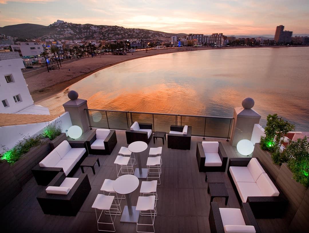 Terraza Chill Out Hotel Boutique La Mar Peñíscola